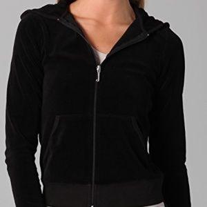🔅Juicy Couture black zip up hoodie🔅